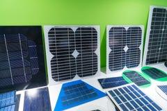 Pannelli solari di varietà immagine stock libera da diritti