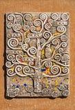 Pannello ceramico fotografie stock libere da diritti