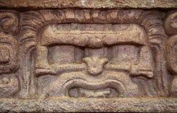 Pannello dalla facciata, ¡ n, Honduras di Copà Fotografia Stock