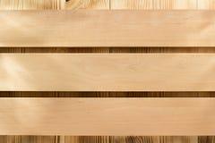 Pannello del bordo su legno Immagini Stock