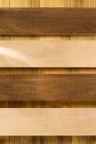 Pannello del bordo su legno Fotografia Stock