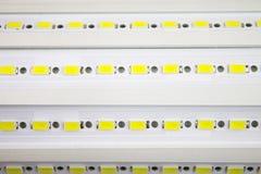 Pannello del LED della lampada del LED, diodi a emissione luminosa Immagini Stock Libere da Diritti