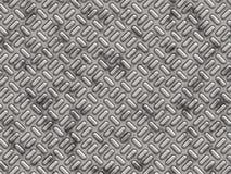 Pannello del metallo con gli urti strutturati Fotografia Stock Libera da Diritti