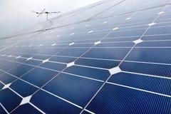 Pannello di batteria della pila solare Immagini Stock