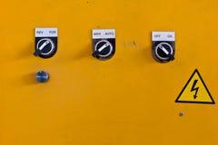 Pannello di controllo Fotografie Stock