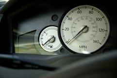 Pannello di controllo dell'automobile fotografia stock