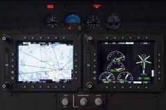 Pannello di controllo dell'elicottero Fotografie Stock Libere da Diritti