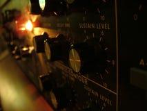 Pannello di controllo di Moog Fotografia Stock Libera da Diritti
