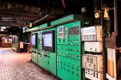 Pannello di controllo e commutatori Fotografie Stock
