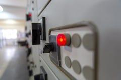 Pannello di controllo industriale immagini stock libere da diritti