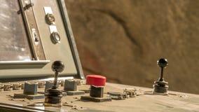 Pannello di controllo polveroso Fotografie Stock Libere da Diritti