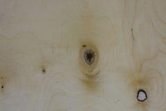 Pannello di legno con il fondo del nodo Fotografie Stock Libere da Diritti