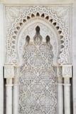 Pannello di marmo di arabesque Fotografia Stock Libera da Diritti