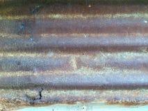 Pannello di parete arrugginito Immagini Stock Libere da Diritti