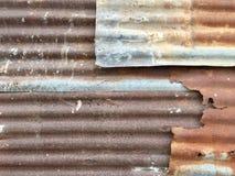 Pannello di parete arrugginito Fotografia Stock Libera da Diritti