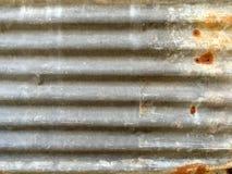 Pannello di parete arrugginito Fotografia Stock