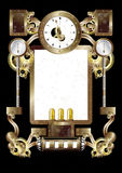 Pannello 1a4 di Steampunk Fotografia Stock