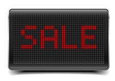 Pannello di vendita LED Fotografia Stock Libera da Diritti