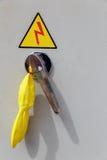 Pannello elettrico Immagine Stock Libera da Diritti