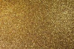 Pannello luccicante frizzante dorato del fondo Immagini Stock Libere da Diritti