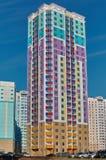 Pannello, multiroom, di case colorate multi Fotografie Stock Libere da Diritti