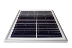 Pannello solare con fondo bianco Fotografia Stock