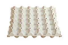 Pannello vuoto dell'uovo Fotografia Stock Libera da Diritti