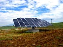 Pannels solaires Images libres de droits