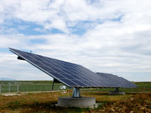 Pannels solaires photographie stock