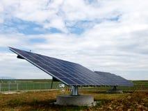 Pannels solari Fotografia Stock