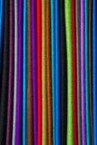 Panni e sete colorati dal Marocco Immagini Stock Libere da Diritti