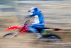 Panning, Motorcross royalty free stock photography