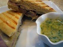 Panning Sandwich Royalty-vrije Stock Afbeeldingen