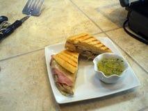 Panning Sandwich Stock Fotografie