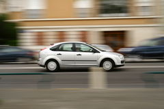 Panning shot series Royalty Free Stock Image