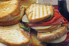 Pannini grillé Photo libre de droits