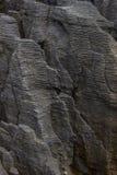 Pannkakan vaggar Punakaiki Nya Zeeland Arkivbild