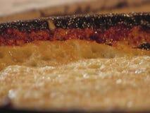 Pannkakor bakas i en kastrull lager videofilmer