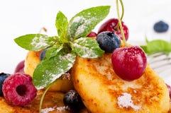pannkakor för berostskog royaltyfri bild
