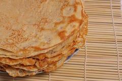 Pannkakor för fettisdagen Royaltyfri Fotografi