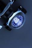 LEDDE pannlampan Arkivbild