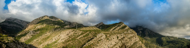 Panno av berg Royaltyfri Fotografi