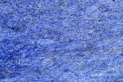 Panno blu Fotografia Stock Libera da Diritti