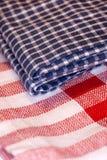 Panno Checkered fotografia stock libera da diritti