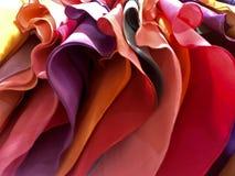 Panno colorato fotografia stock