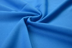 Panno degli azzurri fatto dalla fibra del cotone Fotografia Stock