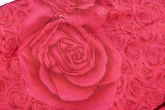 Panno della Rosa Immagine Stock