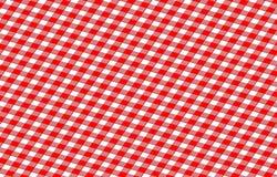 Panno di picnic Fotografie Stock