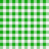 Panno di tabella verde Fotografie Stock