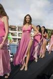 panno Ecuador konkursanta Zdjęcia Stock